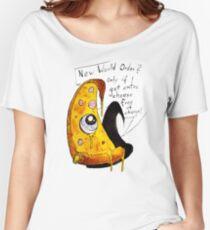 Illuminati Pizza Women's Relaxed Fit T-Shirt