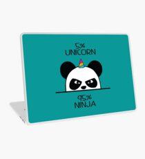 Unicorn Ninja Panda Laptop Skin