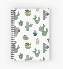 Cacti Sloths Spiral Notebook