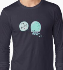 Jellyfish (is deadly) Long Sleeve T-Shirt