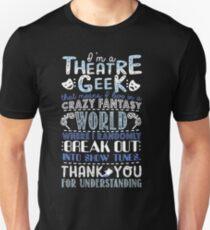 Theater-Aussenseiter Slim Fit T-Shirt