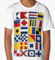 nautical flags Long T-Shirt