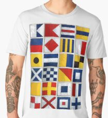 nautical flags Men's Premium T-Shirt