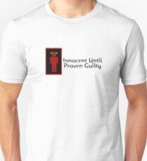 Innocent Until Proven Guilty Teenage Boy Unisex T-Shirt