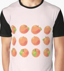 Peach Spin Graphic T-Shirt