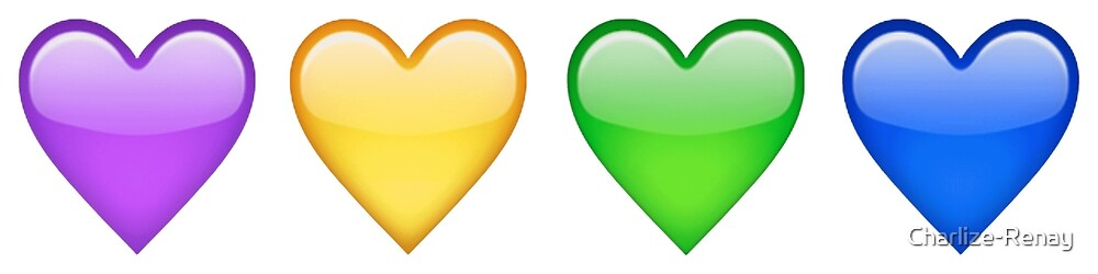Emoji Hearts by Charlize-Renay