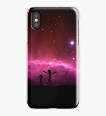 Rick and Morty frickin' bastards  iPhone Case/Skin