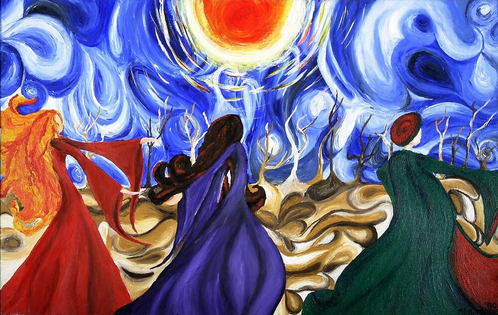 Dancing Across the Desert by ClareW