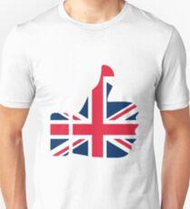 Good Up United Kingdom Britain Unisex T-Shirt