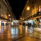 Lisbon Portugal Night Magic - Nighttime Shopping in Baixa Pombalina by Georgia Mizuleva