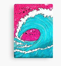 The Sea's Wave Canvas Print