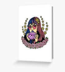 Resting Bitchface Babe Greeting Card