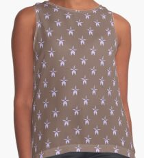 Pale Purple Ground Orchid - Wildflower Contrast Tank