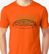 Angular wire bowl - shadow Unisex T-Shirt