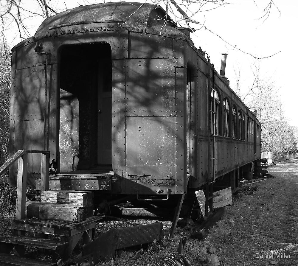 Sleeping Train Car by Daniel Miller