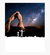 Rick and Morty Delicate Arch Photographic Print