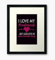 Love Me Some Chandler Bing. Friends. Framed Print
