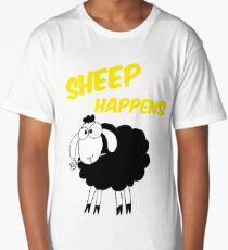Sheep Happens Long T-Shirt