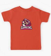 The Slamazons Kids Tee
