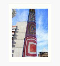 Cosy Columns 3 Art Print