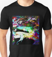 Three Fold Manga Space II PNG Unisex T-Shirt