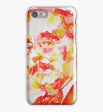 H. G. WELLS - watercolor portrait iPhone Case/Skin
