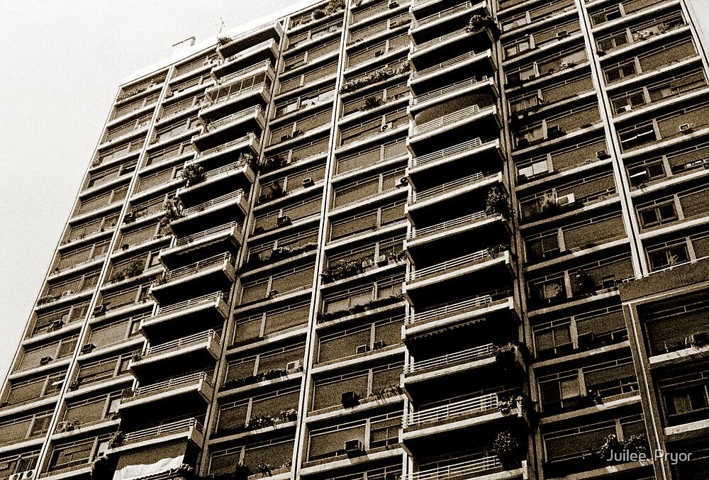 Apartment Building  Buenos Aries by Juilee  Pryor