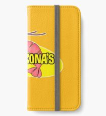 Kamekona's Shrimp iPhone Wallet/Case/Skin