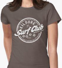 Kilgore Surf Club HD Plain Womens Fitted T-Shirt
