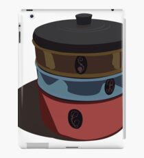 Retro metal cake and biscuit canisters iPad Case/Skin