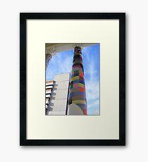 Cosy Columns 9 Framed Print
