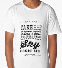 Firefly Theme Song Lyrics Long T-Shirt