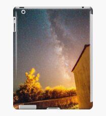 Milky way over a graveyard in Croatia iPad Case/Skin