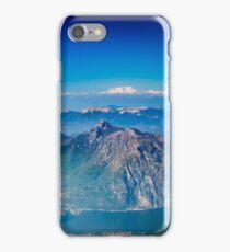 Italian alps surround the lake of Como iPhone Case/Skin