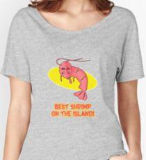 Kamekona's: Best Shrimp on the Island! Women's Relaxed Fit T-Shirt