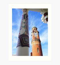 Cosy Columns 8 Art Print