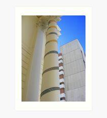 Cosy Columns 11 Art Print