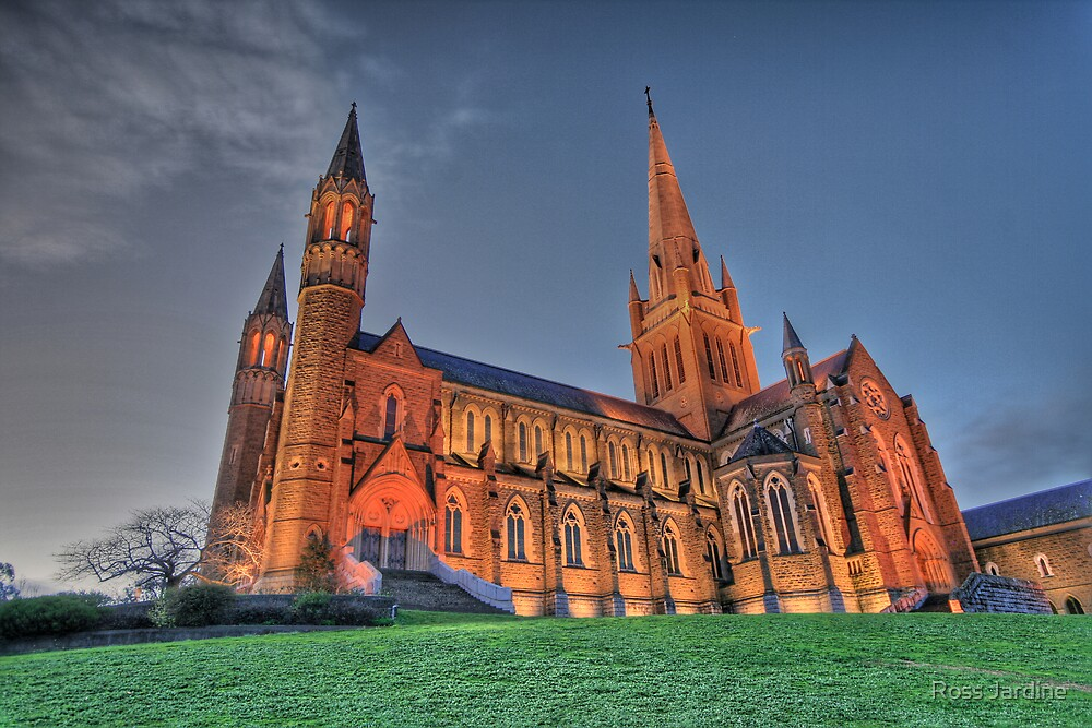 Sacred Heart Cathedral  by Ross Jardine