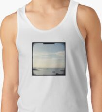 Boat on the ocean Tank Top