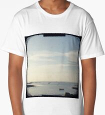 Boat on the ocean Long T-Shirt