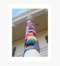 Cosy Columns 16 Art Print