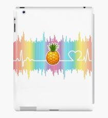 pineapple Heartbeat ornament Lovers tShirt iPad Case/Skin