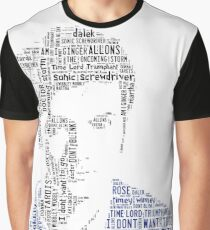 David Tennant as Doctor Who the Time Lord Triumphant  Graphic T-Shirt