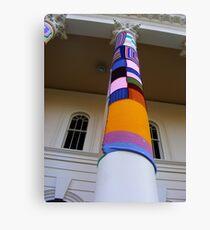 Cosy Columns 15 Canvas Print