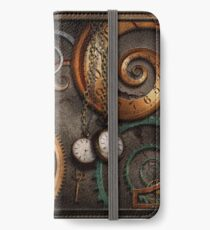 Steampunk - Abstract - Time is complicated iPhone Wallet/Case/Skin