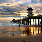 Huntington Beach Pier by K D Graves Photography
