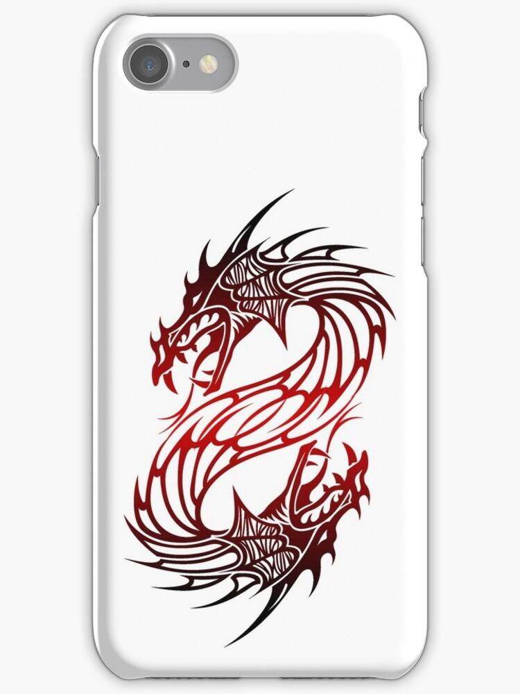 Dragon case - White by MrBliss4