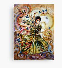 Dancer and Butterflies Canvas Print