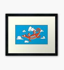 Dragonia Air Framed Print