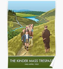 The Kinder Mass Trespass Poster